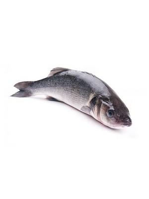 Сибас неразделанный 300-400 гр, 1кг