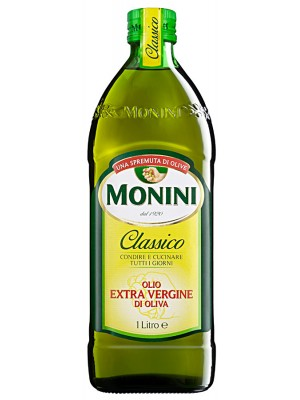 Масло Monini оливковое EV Classico 1л стекло