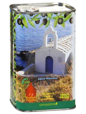 Масло оливковое Монастырские Оливы Extra Virgin Olive Oil 1л ж/б
