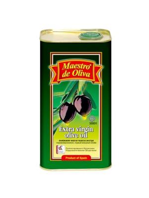 Масло Maestro de Oliva оливковое EV 1л ж/б