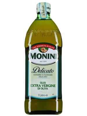Масло Monini E.V. оливковое Delicato 1л стекло