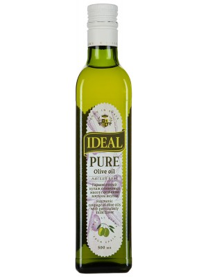 Масло IDEAL Оливковое Pure Olive oil, 500мл