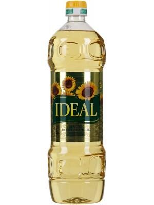 Масло Ideal подсолнечное рафинированное, дезодорированное 1л