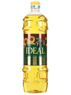 Масло Ideal микс подсолнечного и оливкового масел 1л