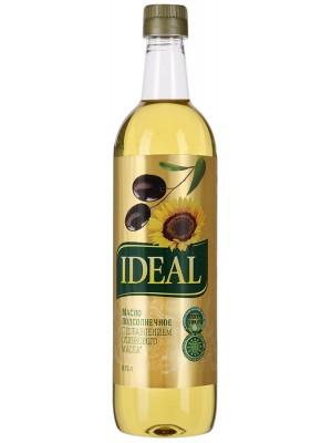 Масло Ideal подсолнечное и оливковое Extra Virgin, 0,75л