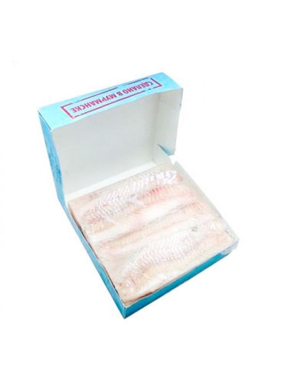 """Треска, филе без кожи проложенное,""""Рубин"""" Мурманск, 3,405кг"""